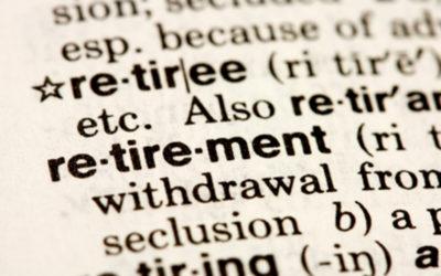 How do you define retirement?